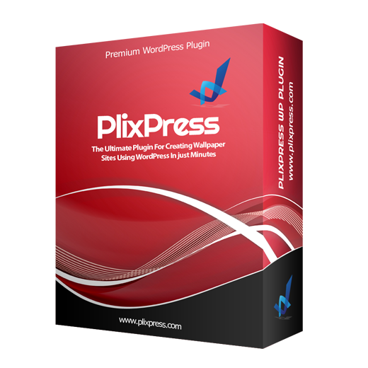 PlixPress – Powerful Wallpaper Site Plugin